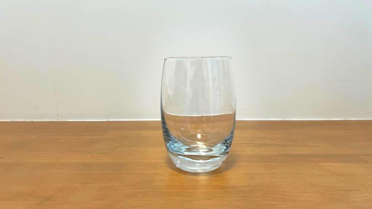 美酢の基本的な飲み方:グラスを用意
