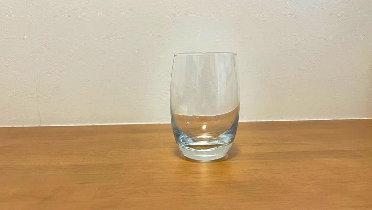 美酢エードの飲み方:グラスを用意