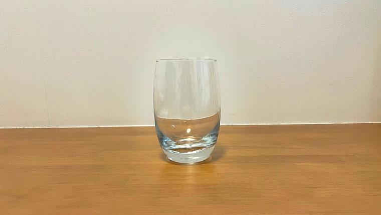クラフト美酢ビールの飲み方:グラスを用意