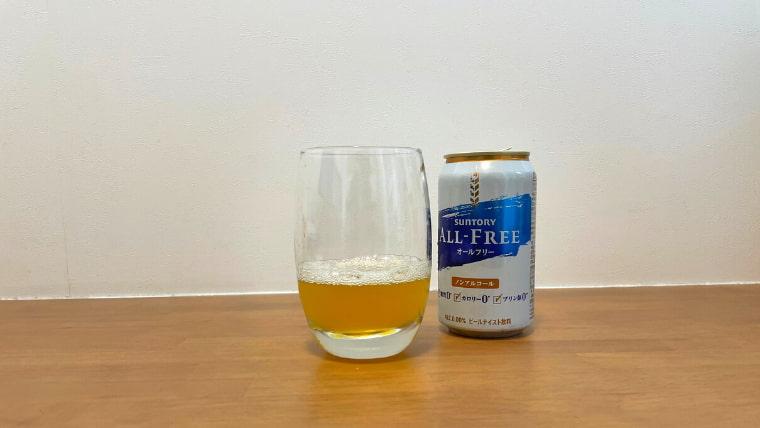 クラフト美酢ビールの飲み方:クラフト美酢ビールの出来上がり