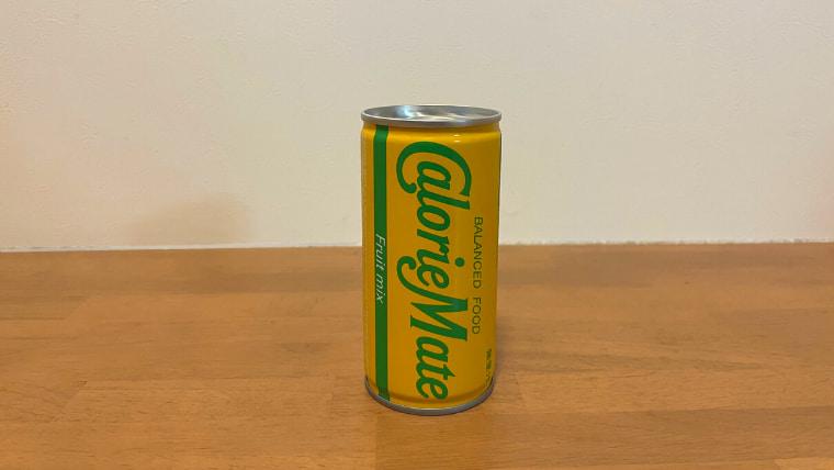 カロリーメイトフルーツミックス味(リキッドタイプ)のパッケージ画像オモテ