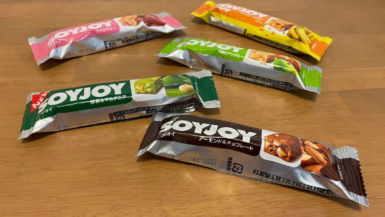 soyjoy4種類のイメージ画像