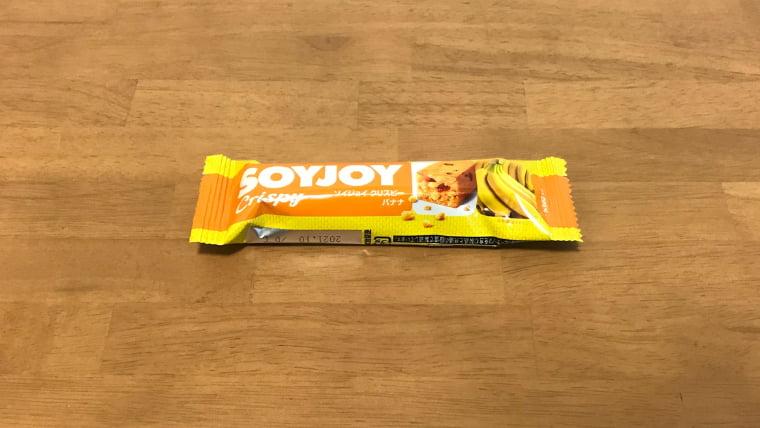 soyjoyバナナ味のパッケージ表
