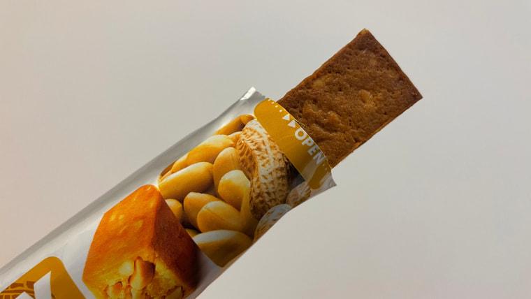 soyjoyピーナッツ味のイメージ表