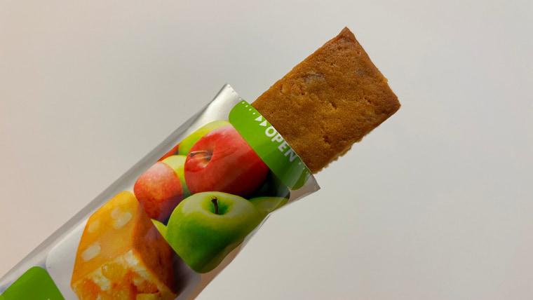 soyjoy2種のアップル味のイメージ表