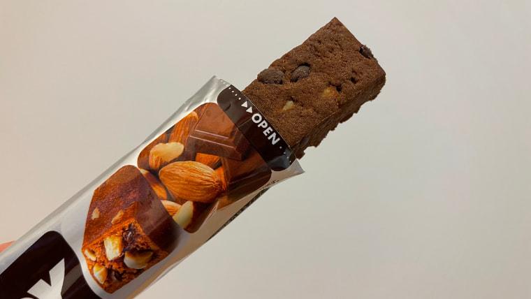 soyjoyアーモンド&チョコレート味のイメージ表